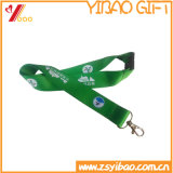 Custom Staff Workers Wholesale Lanyard Factory Resonable Price Gifts