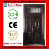 China Supplier Cheap Apartment Steel Door (CF-714)