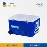 Manufacture 16 L Portable Plastic Trolley Cooler Food Box