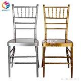 Cheap Wholesale Wedding Hotel Banquet Iron Metal Chiavari Chair