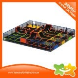 Children Amusement Trampoline Indoor Big Trampoline Park with Net