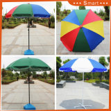 2017 Top Quality Outdoor Huge Sun Protection Polyester /Oxford Advertising Beach Umbrella