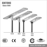 IP67 30W 40W 60W All in One Integrated Outdoor Power LED Solar Lamp Street Garden Road LED Street Light