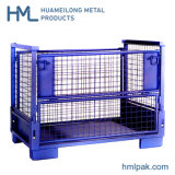 Heavy Duty Stackable Foldable Steel Wire Mesh Stillage Lattice Boxes