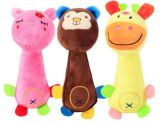 Plush Soft Squeeker Pet Toys Sounding Dog String Toys