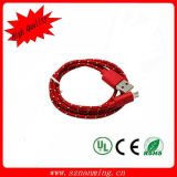 USB2.0 to Micro B Fabric Braid Charging and Date Transfer Cable