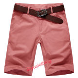Men Casual Fashion Solid Color Simple Leisure Shorts (S-1510)