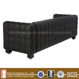Home Hotel Modern Leather PU Sofa with Ottoman (Kubus)