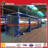 40FT Chemical Fuel Oil Liquid Storage ISO Steel Tank Container