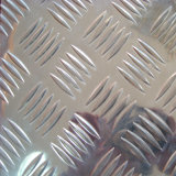 Checkered Aluminum Sheet with 5 Bars