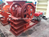 PE250*400 White Color Diesel Jaw Crusher with One Model 1125 Diesel Engine