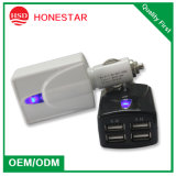 5V 6.2A USB Car Charger for Phone