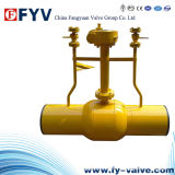 API6d Buried Forged Fully Welded Ball Valve