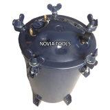20, 40, 60L/Qt 5.3, 10.6, 15.9 Gal. HVLP Bottom Drain/Exit Air /Pneumatic Pressure Quality Paint Pot/Tank PT-60 (40, 20) B