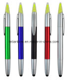 Promotion Gift Stylus Touch Pen with Highlighter (LT-C705)