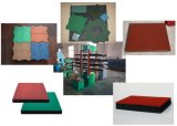 Reclaimed Rubber Tile Vulcanizing Machine (XLB-D550*550*4)