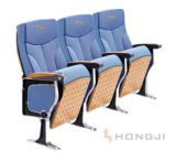 Aluminum Alloy Leg Auditorium Seating, Cinema Theater Chairs
