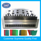 Custom Single Color Hollow Floor Mat Plastic Extrusion Mould