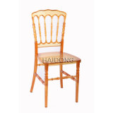 Amber Clear PC Resin Napoleon Wedding Chair