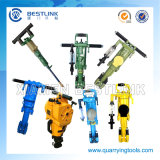 Hand-Held Rock Drill Machine for Quarrying