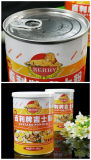 Custard Powder Metal Cans with Ring-Pull Easy Open End