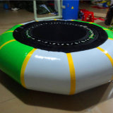 PVC Tarpaulin Customized Inflatable Water Park Game Inflatable Trampoline