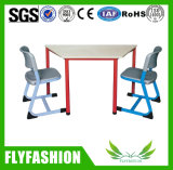 Cheap School Furniture Single Student Desk with Chair (SF-07S)