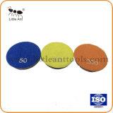 "3""/80mm Metal Bond Resin Diamond Floor Polishing Pad Abrasive Grinding Tools Wheel"