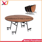 Cheap Wooden Folding Dining Table Chair for Banquet/Hotel/Restaurant/Hall