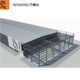Latest Design/Competitive Price/Welded H Steel/Q355b Material/Wind-Resistant Prefabricated Steel Structure for Warehouse/Workshop/Air Station/Gas Station/School
