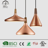 Wholesale Italy Modern Wood and Aluminum Hanging Lamps in Guzhen