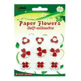 Self Adhesive Paper Flower Sticker for Card Making (FR-01)