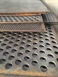 Yaqi Custom Decorative Perforated Panel Stainless Steel Sheet Metal Processing Mesh