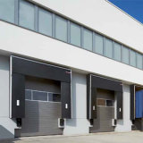 Mechanical Loading Container Dock Seal Sectional Door