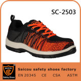 Outdoor Sportive Safety Shoes Manufacturer for Industrial Working Sc-2503
