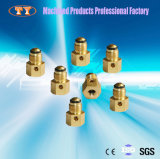 Low Price Brass Parts Copper Pipe Flare Fitting Tube Connector Brass Barb Hose Fitting Brass Compressor Pipe Fitting