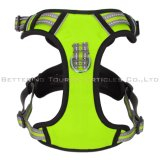 Pet Custom Breathable Adjustable No Pull Reflective Dog Harness Dog Collar