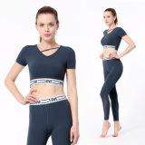 Seamless Yoga Set Gradient Yoge Set Gym Workout Fitness Women Sportswear