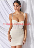 Private Label Summer New Design Style Ladies Fashion Clothes Evening Bandage Sexy Party Apparel Women Gown Custom Cocktail Beautiful Night Dresses