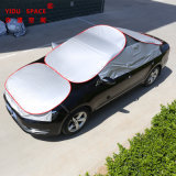 Wholesale All Weather Sunproof Waterproof Silver Folding Universal Auto Sunshade