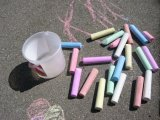 Manufacturer Wholesale Dustless White/Color Chalk, Jumbo Big Chalk, School Chalk
