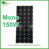 150W Mono Solar Panel with TUV and Ce ISO Certified