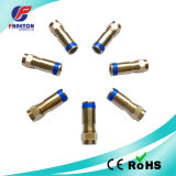 RG6 Compression RF Connectors for Coaxial Cable