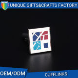 Top Grade Custom Cube Shape Iron Cufflink