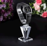 Special Style Clear Acrylic Watch Display Holder with C Circle