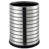Special Round Shape Stainless Steel Recycling Trash Bin
