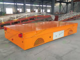 Electric Rail Motorized Flat Car for Metal Casting