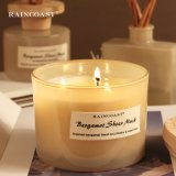 Wholesale 350g Scented Candle Aromatherapy Retro Grind Arenaceous Light Color 3 Wick Candles