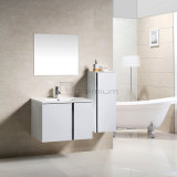 Hotel Wall Hung Modern Popular Single Bathroom Vanity