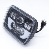 Lightech 12V 24V Car Accessories for Jk Wrangler Jeep 75W LED Headlight Halo 7inch